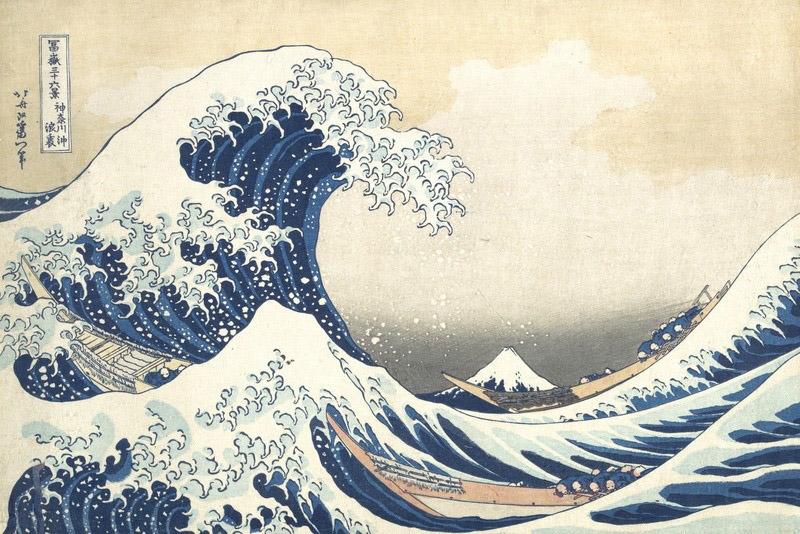 Hokusai Nami-ura_1