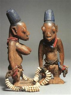 Ibedji Twin Figures
