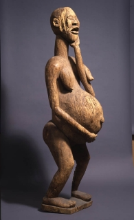 Statue of a Pregnant Woman